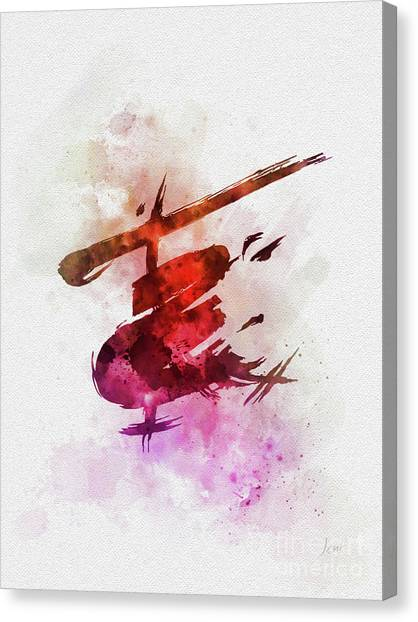 Vietnam War Canvas Print - Miss Saigon by Rebecca Jenkins