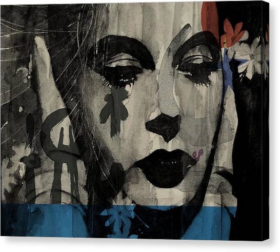 U2 Canvas Print - Miss Sarajevo  by Paul Lovering