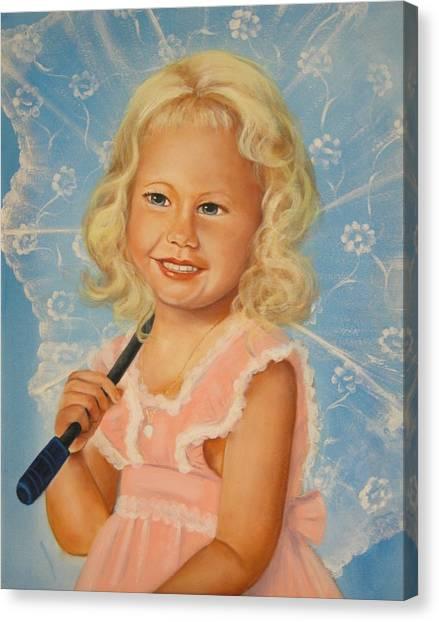 Miss Sunshine Canvas Print by Joni McPherson