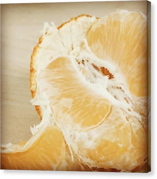 Orange Canvas Print - Tangelo by Nancy Ingersoll