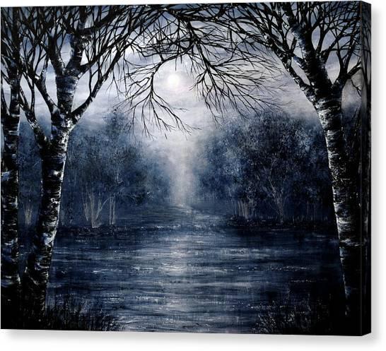 Missing You Canvas Print by Ann Marie Bone