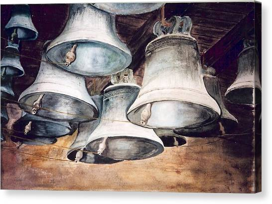 Mission Bells Canvas Print by Dwight Williams