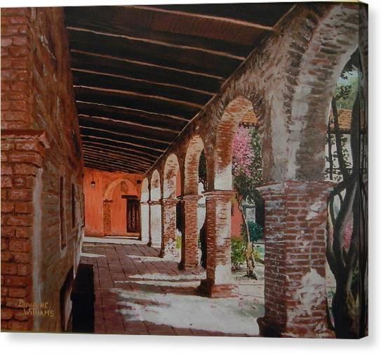 Mission Capistrano Canvas Print