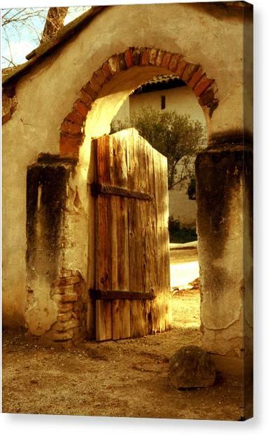 Mission Gate - San Miguel Canvas Print