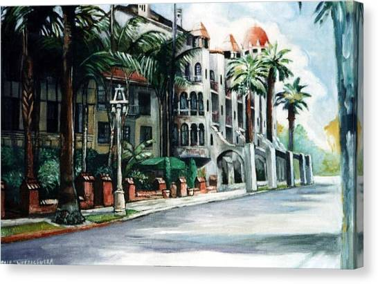 Mission Inn - Riverside- California Canvas Print
