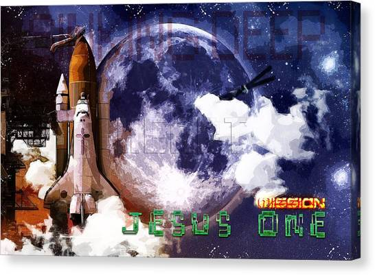 Mission Jesus One Canvas Print