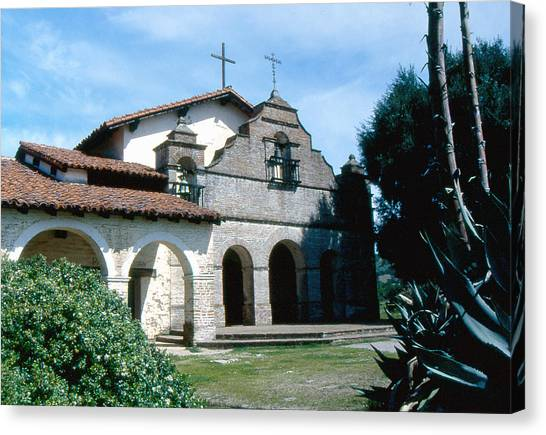 mission San antonio 2 Canvas Print