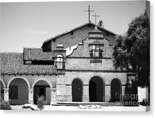 Mission San Antonio De Padua No1 Canvas Print by Mic DBernardo