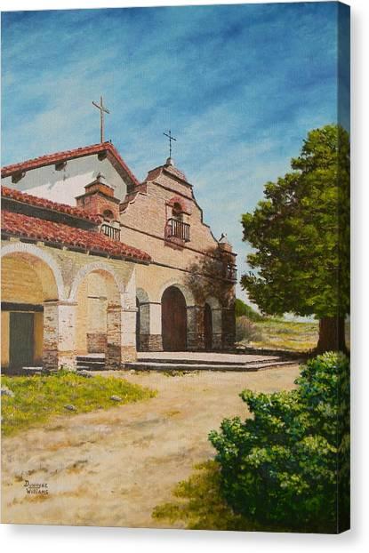Mission San Antonio Canvas Print