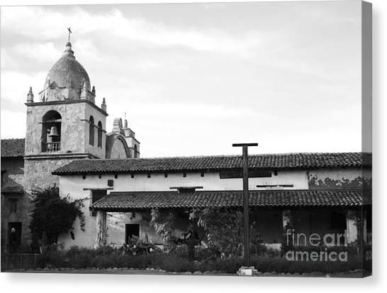Mission San Carlos Borromeo De Carmelo No1 Canvas Print by Mic DBernardo