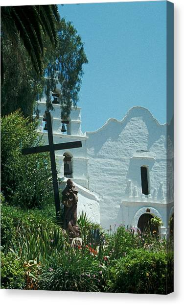Mission San Diego Canvas Print