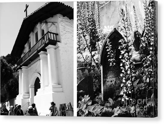 Mission San Francisco De Asis Aka Mission Dolores No1 Canvas Print by Mic DBernardo