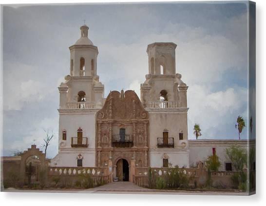 Mission San Xavier Del Bac Canvas Print