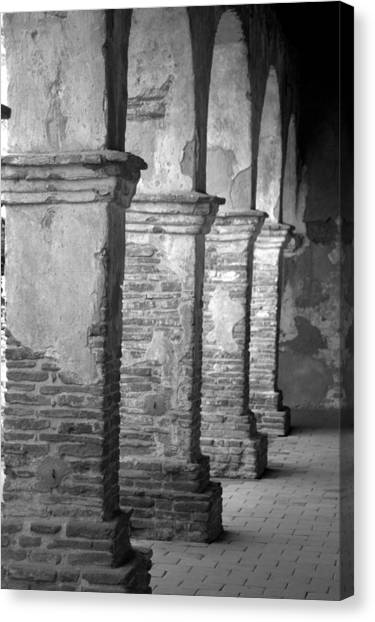 Mission San Juan Capistrano Arches Canvas Print