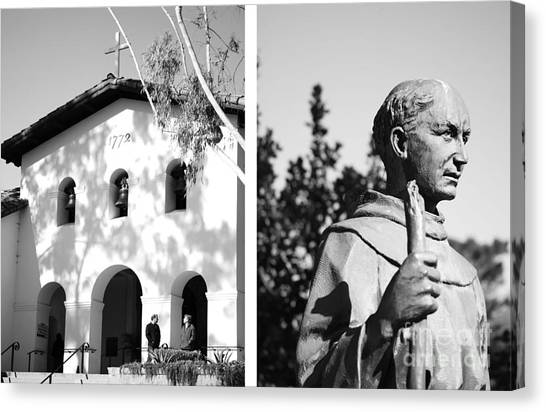 Mission San Luis Obispo No1 Canvas Print by Mic DBernardo