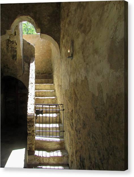 Mission Stairway  Canvas Print