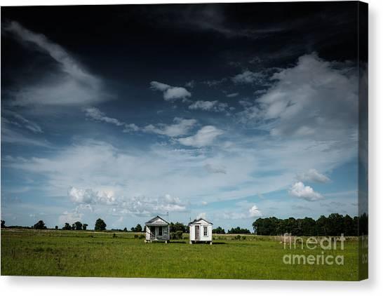 Mississippi Delta Homesteads Canvas Print