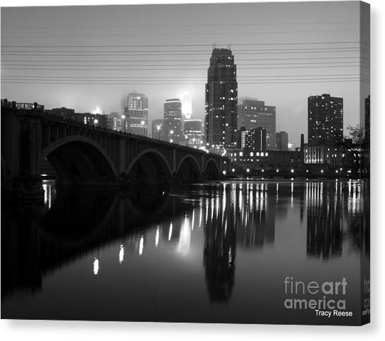 Mississippi Glass Canvas Print by Tracy Reese