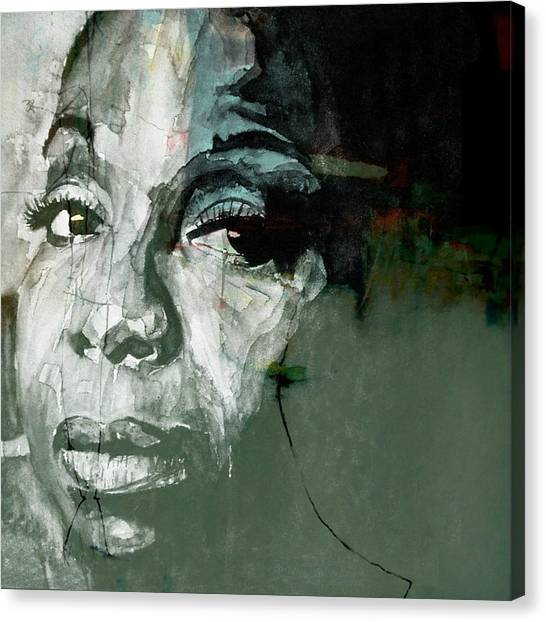 Rhythm And Blues Canvas Print - Mississippi Goddam by Paul Lovering