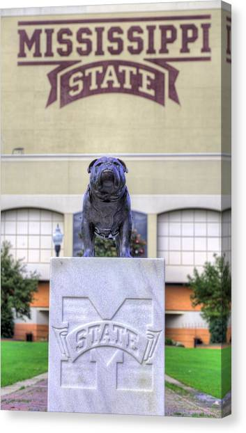 Mississippi State University Canvas Print - Mississippi State by JC Findley