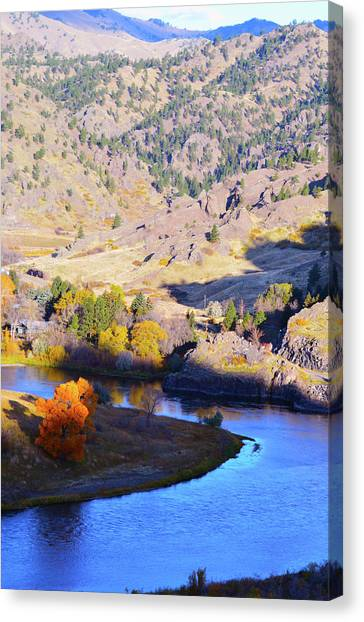 Missouri River Canvas Print