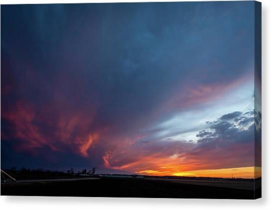 Missouri Sunset Canvas Print