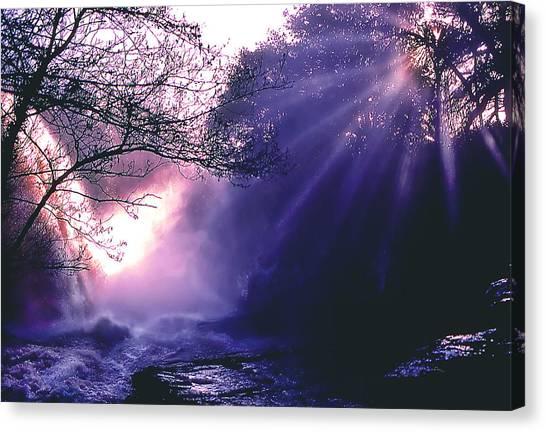 Mist Of Ireland Canvas Print by Matthew Altenbach