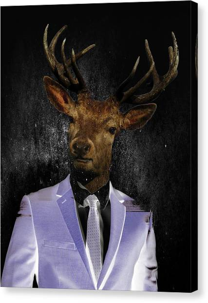 His Excellency Canvas Print - Mister President by Solomon Barroa
