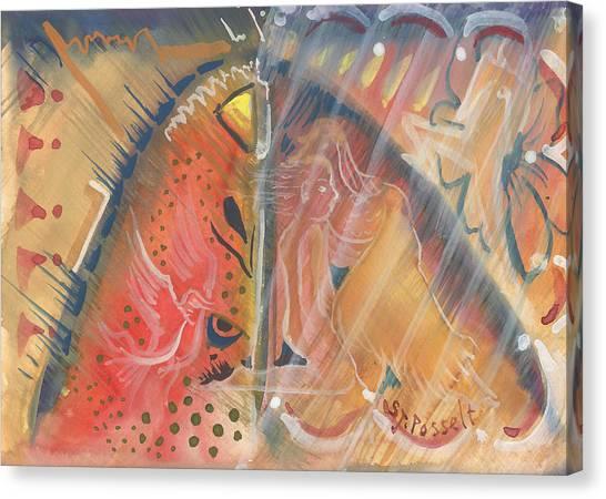 Mistic Cave Canvas Print