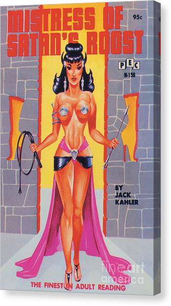 Mistress Of Satan's Roost Canvas Print