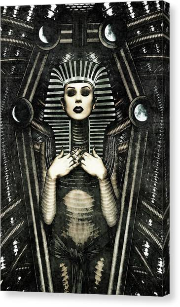 Mistress Of The House Canvas Print