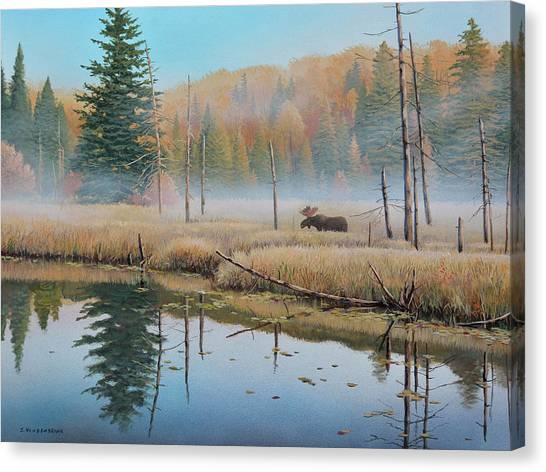 Mists Of Dawn Canvas Print