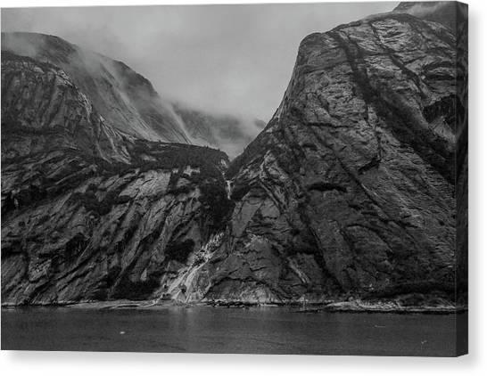 Misty Fjord Canvas Print