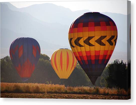 Misty Landings Canvas Print