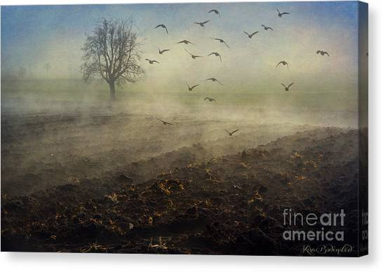 Misty Meadows Canvas Print