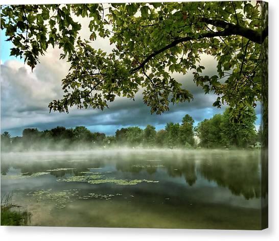 Misty Morn Canvas Print