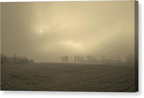 Canvas Print - Misty Morning by Slawek Aniol