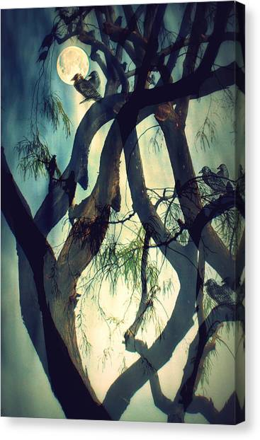 Misty Morning-sold Canvas Print