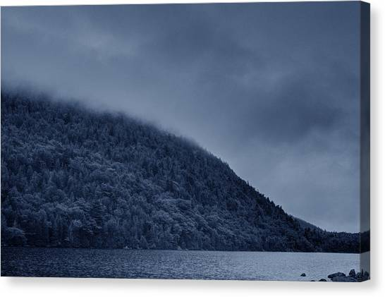 Misty Mountains Canvas Print