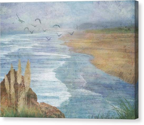 Misty Retreat Canvas Print
