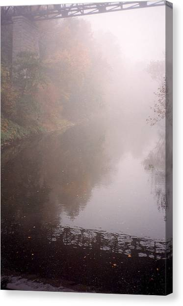 Misty Shadows Canvas Print
