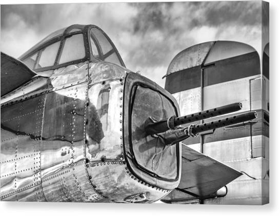 Mitchell Tail Guns Canvas Print