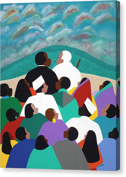 Canvas Print - Mlk Called To Serve by Synthia SAINT JAMES