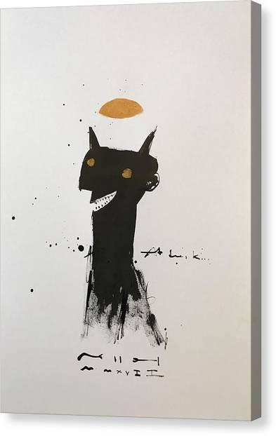 Fineart Canvas Print - Mmxvii At Dusk  by Mark M Mellon
