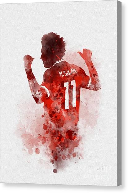 Mo Canvas Print - Mo Salah by My Inspiration