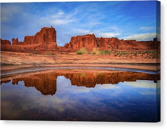 Moab Reflections Canvas Print