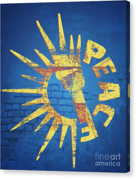 Canvas Print - Moar Peace by Laura Brightwood