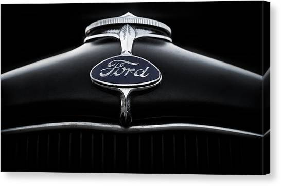 Star Trek Canvas Print - Model A Ford by Douglas Pittman