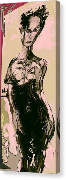 Model IIi Canvas Print by Noredin Morgan