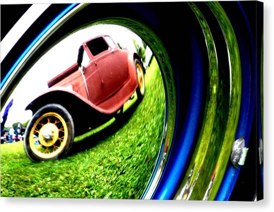 Model T In A Bubble Canvas Print